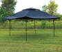 16 inch x 16 inch Dome Pop Up Canopy outside