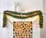 18FT CLEAR PRE-LIT GARLAND