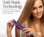 1inch Ceramic Digital Hair Straightener silo front with model