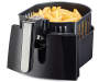 2 point 5L Air Convection Fryer silo angled view with food prop