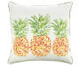 20 IN PINEAPPLES CRM TOSS PILLOW