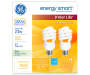 23 Watt Soft White Energy Smart Spiral CFL Light Bulbs in Package Silo Image