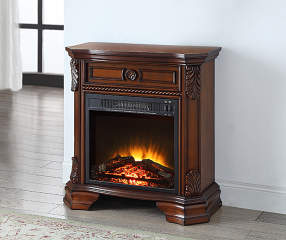 28 Quot Petite Foyer Electric Fireplace Big Lots