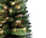 3 Feet Traditions Pre Lit Cashmere Artificial Christmas Tree Close Up Branch Silo Image