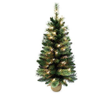 1600 - Small Black Christmas Tree