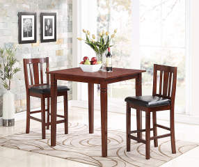 3 piece square pub dining set big lots
