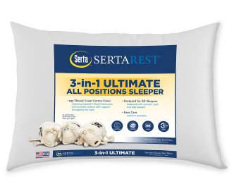 Sertarest Perfect Sleeper Cool Amp Comfy Jumbo Bed Pillow