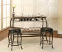 3-Piece Marque Bar Set Room View