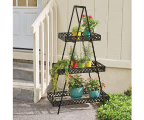 Wilson Amp Fisher 3 Tier A Frame Plant Stand Big Lots