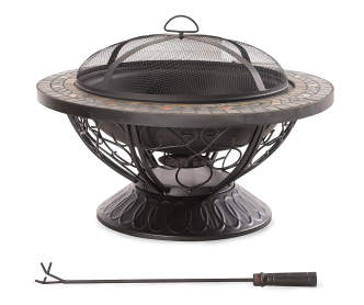 Wilson Amp Fisher 37 Quot Sonoma Gas Fire Pit Table Big Lots