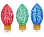 30IN Pop-Up C9 Bulb 3-Piece Pathway Marker Set Silo Image