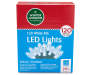 34 Foot White M5 LED Lights 120 Count in Package Silo Image