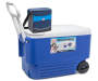 38 Quart Wheelie Cooler with Soft Cooler on top Silo Image
