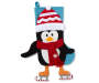 3D Penguin Dangle Leg Stocking Silo Image
