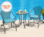 3PC CUSHIONED BISTRO SET