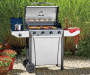 4-Burner 48,000 BTU Stainless Steel Gas Grill