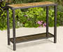 40 IN TILE TOP SIDE BAR TABLE
