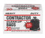 42 Gallon Contractor Trash Bags 20 Count Box Silo Image