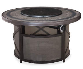 Wilson Amp Fisher 43 Quot Mesa Gas Fire Pit Patio Table With