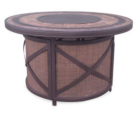 Wilson Amp Fisher 43 Quot Santa Fe Round Gas Fire Pit Table