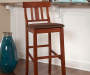 43 inches Espresso Padded Folding Barstool lifestyle