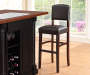 45 inches Espresso Classic Barstool with Open Back lifestyle