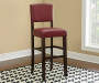 45 inches Red Classic Barstool with Open Back lifestyle
