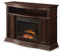 "48"" Cherry Console Electric Fireplace"