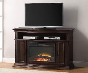 48 Cherry Console Electric Fireplace Big Lots
