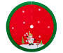 48IN Snowman Felt Tree Skirt Silo