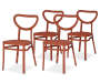 4PK CORAL EDINA II STACKING CHAIRS