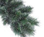 5 Foot Cupid Cashmere Pre Lit Artificial Christmas Tree in Urn Close Up Detail Silo Image