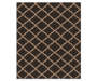 5 foot by 6.5 foot Essex Collection Quatrefoil Rug