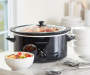 5-Quart Oval Portable Slow Cooker