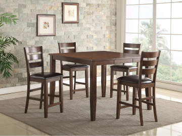 26999 52 mango square dining table - Colorful Dining Room Tables