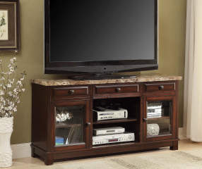 52 Quot Faux Marble Tv Stand Big Lots