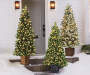 6' Donner Deluxe Pre-Lit Artificial Christmas Urn Tree