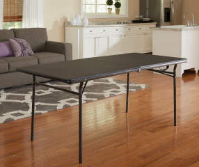 Cosco 6 Black Center Folding Table Big Lots