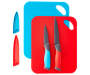 6 Piece Cutting Mat and Knife Set silo front