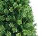 6.5 Foot Vail Deluxe Cashmere Artificial Christmas Tree Close Up Detail Silo Image