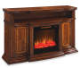 "60"" Console Cherry Electric Fireplace Silo image"