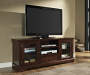60 Inch TV Stand with Drawer with Displayed TV Room View