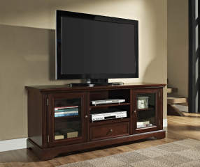 60 Quot Walnut Tv Stand Big Lots