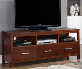 Just Home 60 Quot Mango 3 Drawer Tv Stand Big Lots