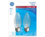 60 Watt Clear Ceiling Fan Light Bulb in Package Silo Image