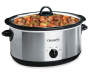 7-Quart Oval Stainless Steel Slow Cooker