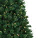 7.5 Feet Breckenridge Deluxe Pre Lit Cashmere Artificial Christmas Tree Close Up Branches Silo Image
