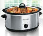 8 Quart Manual Slow Cooker with Dipper lifestyle image