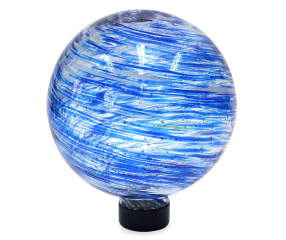 Wilson Amp Fisher 8 Quot Blue Glow In The Dark Glass Gazing Ball