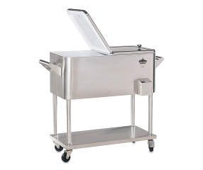80 Quart Stainless Steel Cooler With Wheels Big Lots